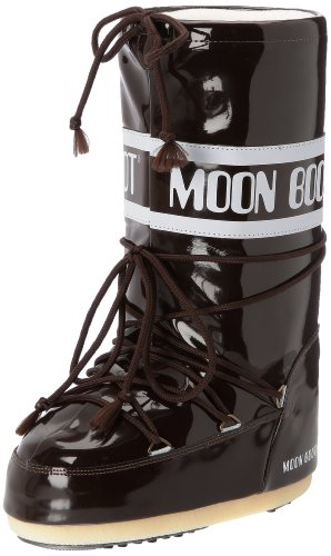 Moon Boot Tecnica VINIL T.MORO, Unisex-Erwachsene Outdoor Fitnessschuhe, Braun (0013), 39/41 EU (0.5 Damen UK)