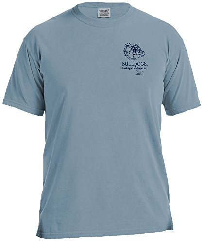Mountain Short Sleeve Tee (Image One NCAA Mountain CO. Short Sleeve Komfort Farbe Tee, Unisex, Mountain Co, eisblau)