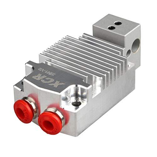 D DOLITY 1 Stück Dual Color Hotend Kit Kühlkörper 3D-Drucker Zubehör