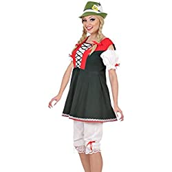 WIDMANN Señoras traje vestido bávaro Extra Large UK 18-20 para Programas de dibujos animados y Cine vestido de lujo