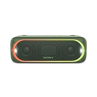 Sony SRS-XB30 Tragbarer Lautsprecher (Farbige Lichtleiste, Stroboskoplicht, Extra Bass, Bluetooth, NFC, Wasserabweisend)