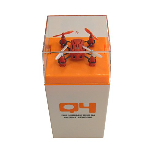 "Dromocopter HUBSAN NANO Q4 H111 ""LUXURY BOX"" 4-CH 2.4GHz RTF Mini RC Quadcopter UFO Drone con 6 assi giroscopio/LED luce"