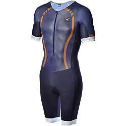 Taymory Swim Run T60.5 Trimono de Larga Distancia, Hombre, Azul, L