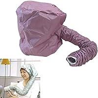 Tapón secador de pelo suave, UxradG Home portátil capucha capucha accesorio para cuidado del cabello salón secador de pelo sombrero capucha color al azar