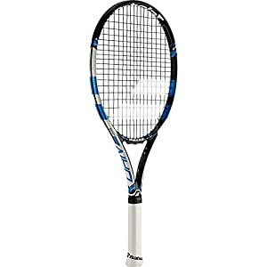 Babolat 140157-146 Pure Drive 26 Strung Junior Tennis Racquet, Grip 1 (Black/Blue)