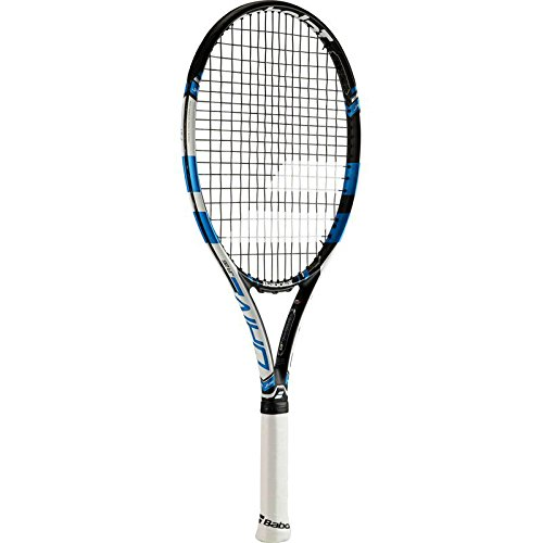 Schläger Tennis Junior (Babolat Pure Drive Junior 26 Tennisschläger, Unisex Kids, Pure Drive Junior 26, Schwarz/Blau)