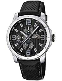 Festina Herren-Armbanduhr Analog Quarz Leder F16585-4