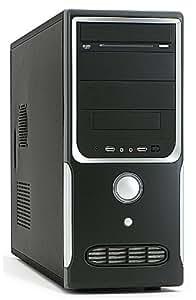 PC - CSL Speed 4412 (Core 2 Quad) - QuadCore! PC-System mit Intel Core 2 Quad Q8300 4× 2500 MHz, 500GB SATA, 4096MB DDR3, GeForce GTS 250 1024MB, DVD-RW, Sound, LAN