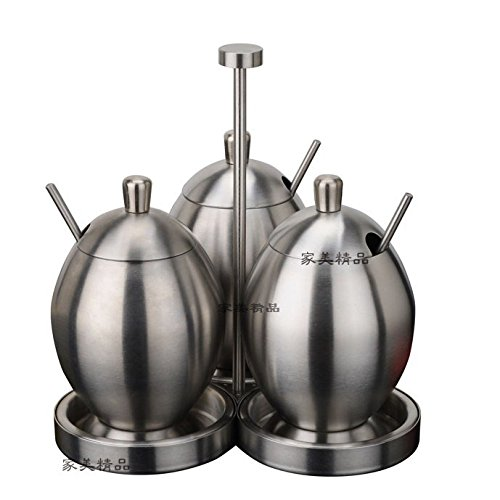 BTJC In acciaio inox Spice vaso bottiglia
