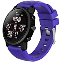 Modaworld _Correa de reloj Suave de Silicona Sports Band para HUAMI Amazfit Stratos Smart Watch 2