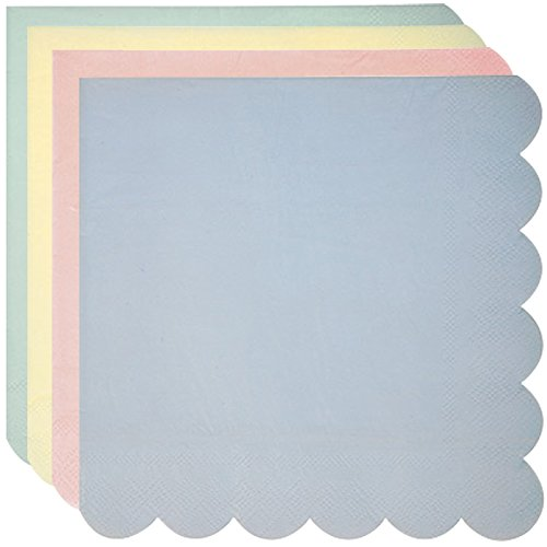 serviettes-en-papier-mix-4-couleurs-pastel-x16