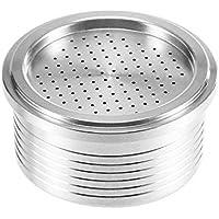 OurLeeme Cápsula de café recargable, taza de filtro de café reutilizable de acero inoxidable para