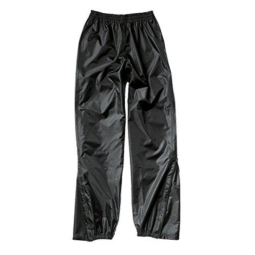 Hein Gericke Basic II Regenhose schwarz L - Motorrad Regenbekleidung