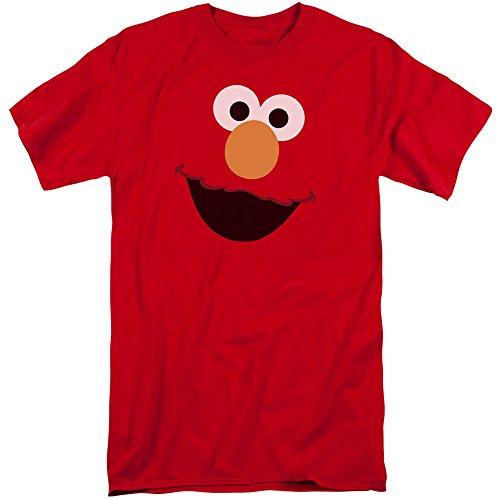 Sesame Street Herren T-Shirt Rot