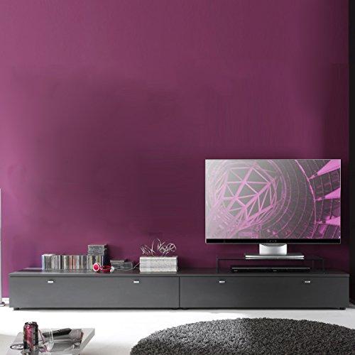 TV Board Tetis Wohnzimmer Lowboard Kombinatuon graphit