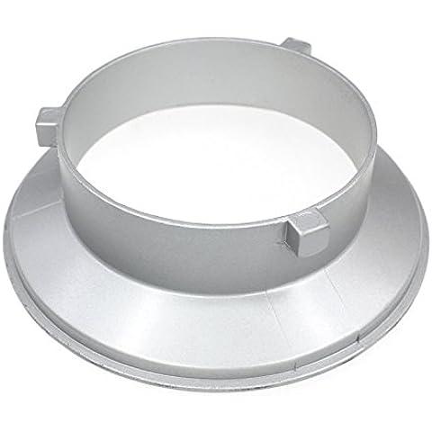 Godox® SA-01-BW 144mm di diametro flangia di montaggio anello adattatore per flash Accessori per Bowens