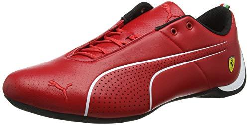 Cat Low Schuh (Puma Unisex-Erwachsene Sf Future Cat Ultra Sneaker , Rot (Rosso Corsa-Puma White) , 41 EU)