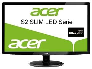 Acer S222HQLAbid 54,6 cm (21,5 Zoll) Slim LED Monitor (VGA, DVI, HDMI, Kontrast 12.000.000:1, Reaktionszeit 2ms) schwarz