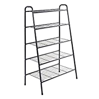 Ejoyous Shoes Rack, Wood Plastic Modern Durable Space Saving Display Shoe Storage Organizer, Free Standing Shoes Tower Shelves Holder Closets Stand, Support Hold