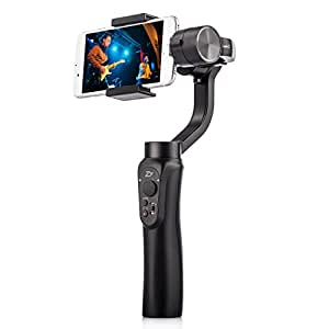 Zhiyun Smooth-Q Multi fonction 3 axes stabilisateur pour Smartphone iPhone Samsung Gopro etc.