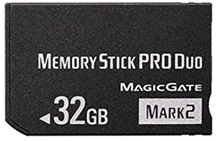 Original 32GB High Speed Memory Stick Pro Duo (Mark2) PSP Zubehör/Kamera Speicherkarte (32gb Memory-stick Pro-duo)