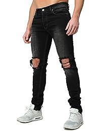 Redbridge Homme Jeans Tokio Mince Fit détruit Regardez facilement Insipide