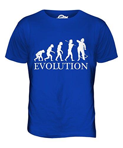 CandyMix Armburst Armbrustschützen Evolution Des Menschen Herren T Shirt Königsblau