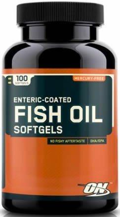 Optimum Nutrition - Fish oil (olio di pesce) - 100 Softgel - 41hG0SHyrOL