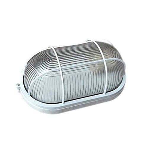 Isolieren Fabrik-/Einparkhilfe/Residential Area/Korridor/ Park / Rasen Wandmontage Outdoor Indoor Wasserfest UV Explosionssicher Lampenschirm Modern Weiß