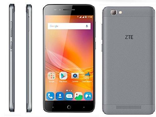 ZTE Blade A610 - Smartphone Libre de 5' (4G, MediaTek MT6735, 2 GB de RAM, Almacenamiento Interno de 16 GB, Bluetooth,...