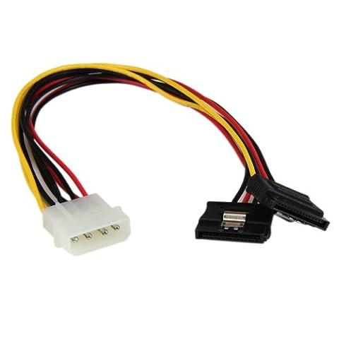 CABLINGà Adaptateur càble d'alimentation LP4 vers 2xSATA - type Y