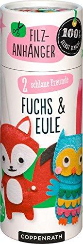Buch Set Kleine Eule (Näh-Set: 2 schlaue Freunde: Fuchs & Eule)