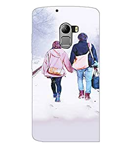 PrintDhaba Couple D-3726 Back Case Cover for LENOVO K4 NOTE A7010a48 (Multi-Coloured)