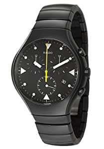 Rado True R27815162 43mm Ceramic Case Black Ceramic Anti-Reflective Sapphire Men's Watch