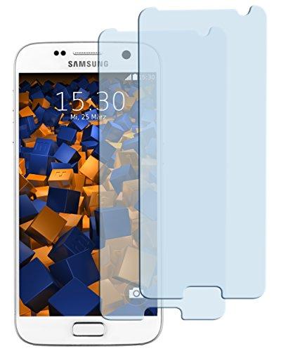 2x mumbi ECO Panzerglas für Samsung Galaxy S7 Panzerfolie Glasfolie