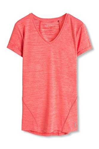 Esprit Sports Active/Training E-Dry Funktions, T-Shirt de Femme Rot (BERRY RED 2 626)