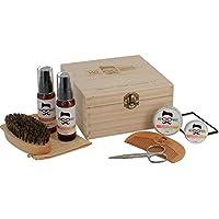 Caja de regalo de madera con la firma de Mo Bro's