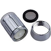 Sonline del sensor de temperatura de 3 colores Glow Agua de luz LED grifo