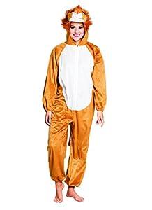 Boland 88428adultos Disfraz de león de peluche, One size