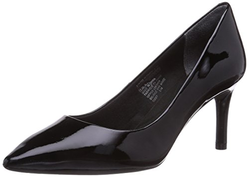 Rockport Damen Total Motion 75mm Pointy Toe Pump Pumps, Schwarz (BLACK PATENT), 41 EU Pointy Pumps