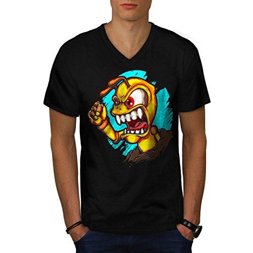 fourmi-en-colere-monstre-bizarre-homme-nouveau-noir-l-t-shirt-wellcoda