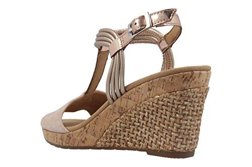 Multicolor Keil Übergrößen Sandaletten Comfort Schuhe Gabor Damen Rosa in nvT4UwxBq8