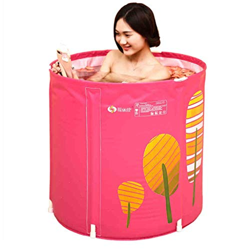 Bañeras Clásicas Mujer Piscina para Niños Inflable Plegable De Plástico Baño Familiar para Adultos Ducha De Playa En La Playa Exterior Portátil