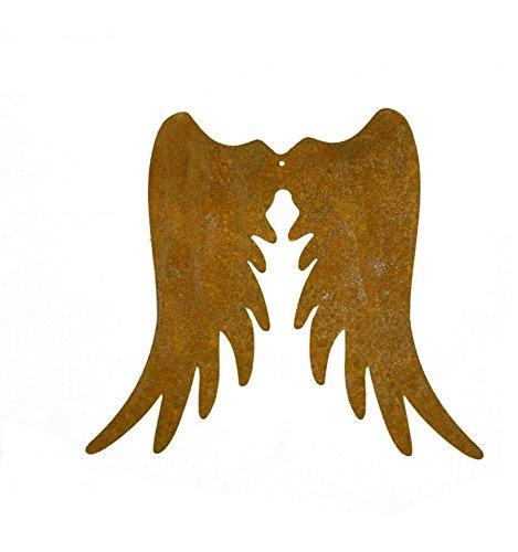 rost Engelsflügel schmal 20 cm hoch