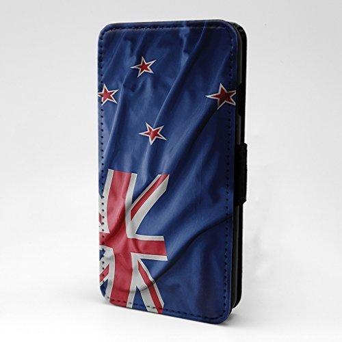 Länder Flaggen Bedruckt Telefon Flip Case Hülle für Apple Iphone 6 - 6S - Neuseeland - S-T2355