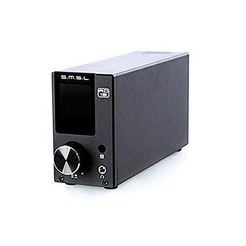 SMSL AD18 Verstärker Bluetooth Endstufe Mit EQ, 80W, DAC Unterstützung USB AUX Optischer Koaxial Eingang