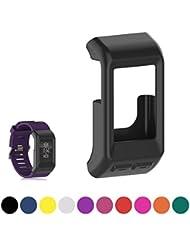 iFeeker Weich Silikon Hülle Fitness Band Abdeckung Schutzhülle für Garmin Vivoactive HR GPS Smartwatch