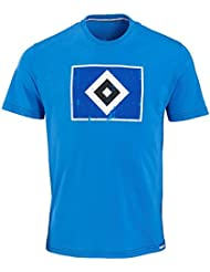 "Hamburger SV HSV T-SHIRT ""RAUTE"" Blau"