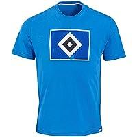 """Hamburger SV HSV T-SHIRT """"RAUTE"""" Blau"""