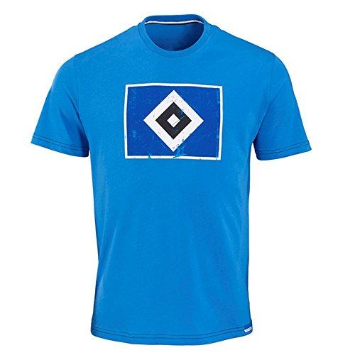 """Hamburger SV HSV T-SHIRT """"RAUTE"""" Blau (M)"""